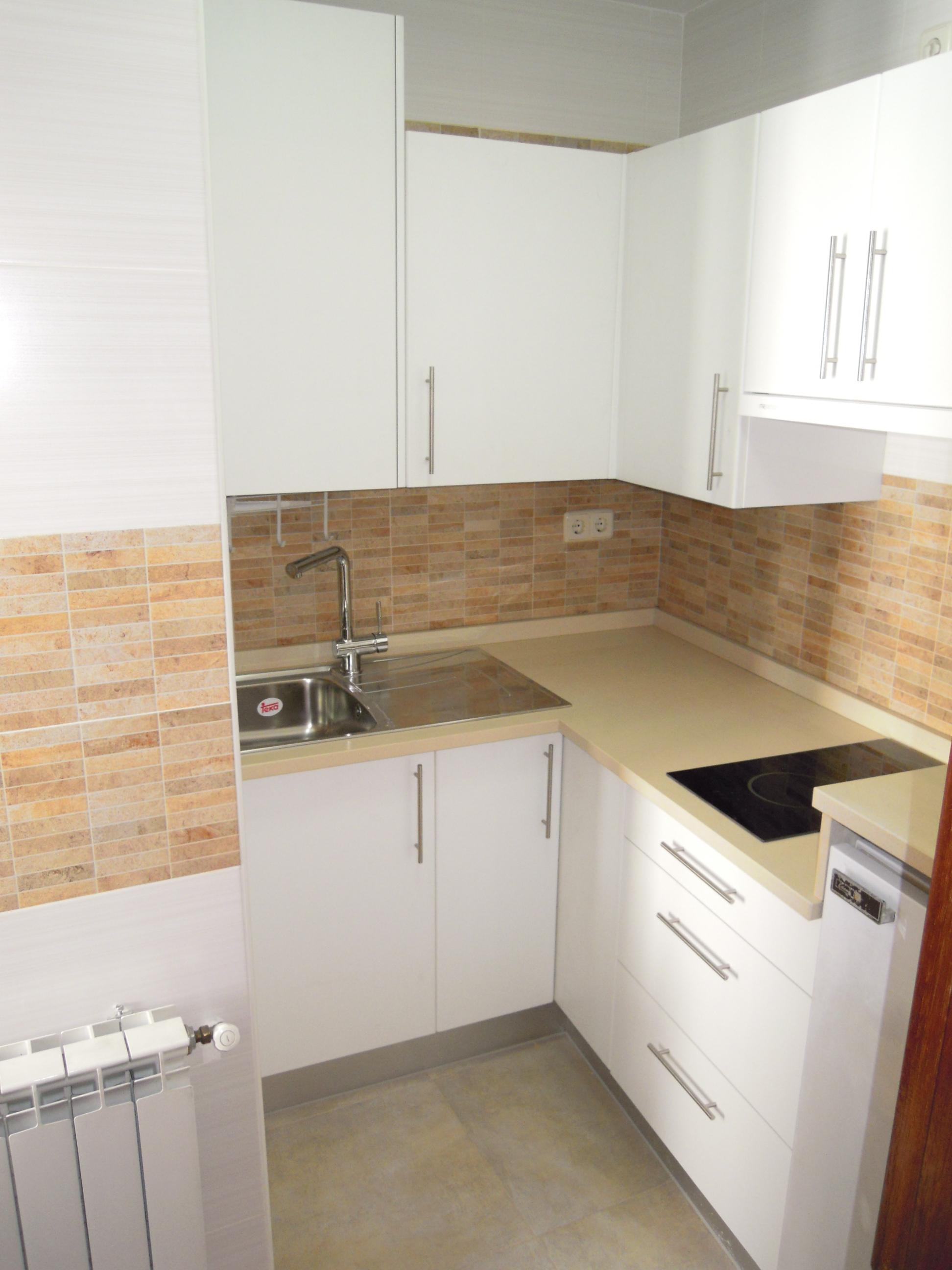 cocina en poco espacio refor